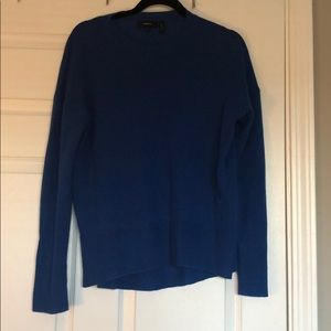 Theory Bright Blue Cashmere sweater